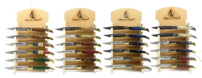 Lot of 24 Lagouile Bougna knives
