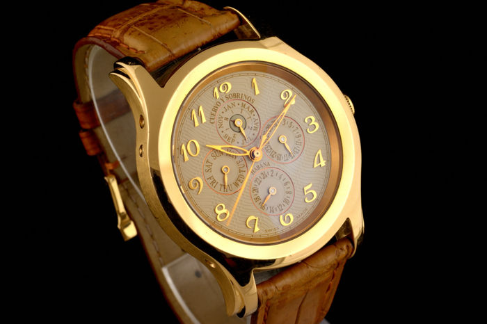 Cuervo y Sobrinos - Robusto Perpetual GMT Limited Edition - 2824 - Heren - 2000-2010