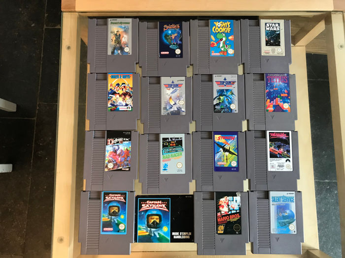 Lot 15 games Nintendo NES like North & South + Yoshi's Cookie and more