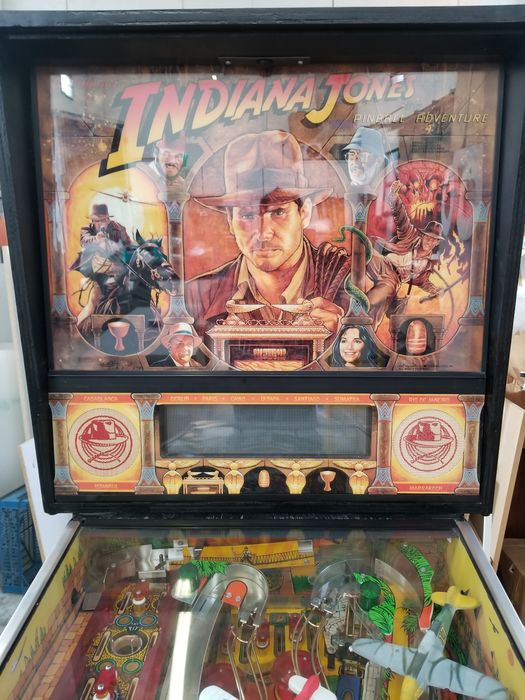 Flipper Indiana Jones -  Williams 1993  - VIDEO DISPONIBILE