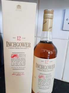 Inchgower 12 years old - bottled 80s - OB