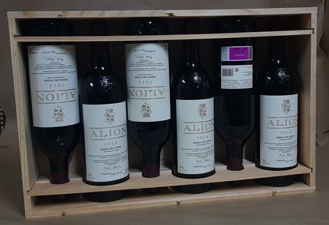 2014 Vega Sicilia Alion, Ribera del Duero - 6 bottles ( original box ).