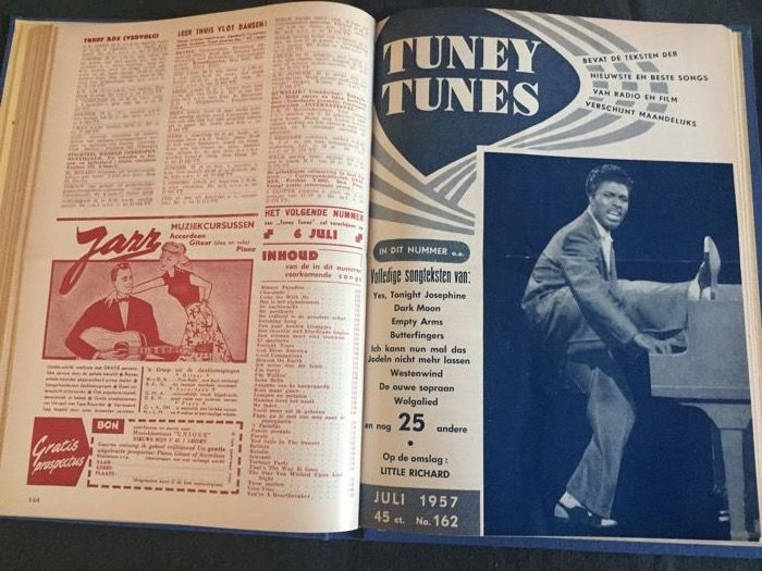 Tuney Tunes - Lot with 6 bound volumes - 1955/1960