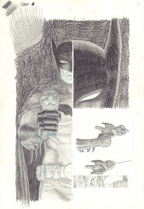 Batman: Death by Design - Page 7 - Original Artwork by Dave Taylor - Loose page - First edition - (2012)
