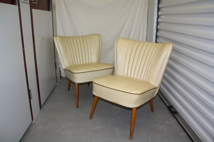 2 X Vintage Cocktail Chairs