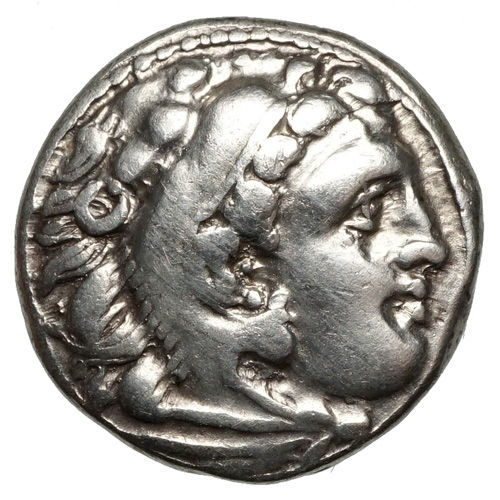 Greece (ancient) - Macedonia. AR Drachme, Alexander III. der Große (336-323). Postum, Colophon, 319-310.