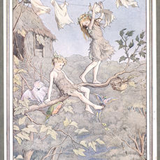 J.M. Barrie & F.D. Bedford (illustrator) - Peter and Wendy [Peter Pan] - 1925