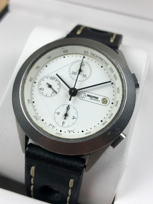 "MomoDesign - Ruthenium Chronograph Automatic - ""NO RESERVE PRICE"" - 0704 - Men - 2000-2010"