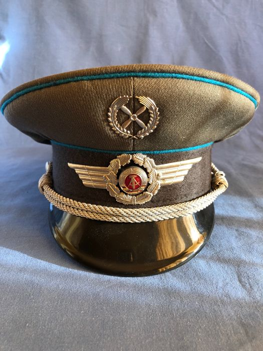 5a8fbdd1d Great and rare Hat of Officer of the German Air Force of East ...