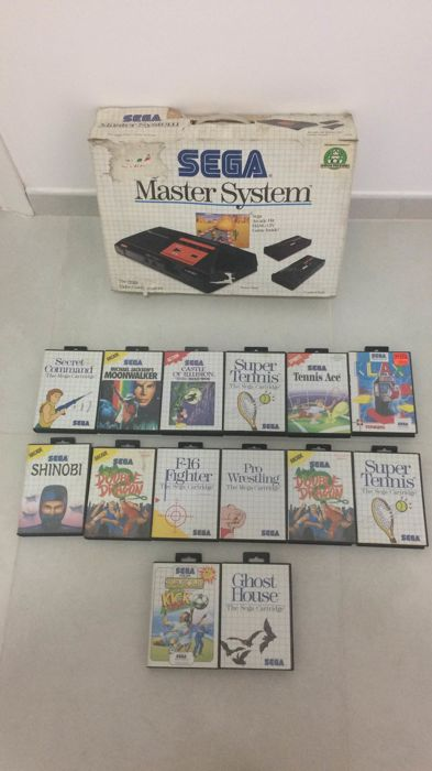Sega Master System with 14 Games