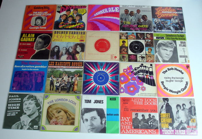 20x Pop Singles from the 1960's