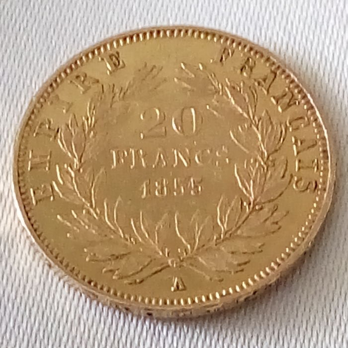 France - 20 Francs 1855-A