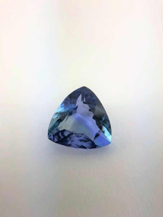 Tanzanite - Greenish Violet - 1.88 ct