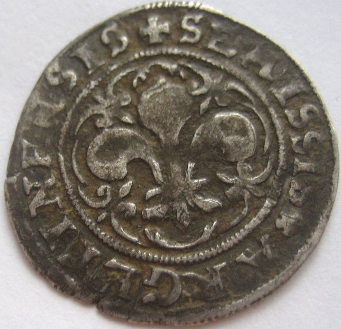 France - Alsace - City of Strasbourg (16th century) - AR Semissis - Silver