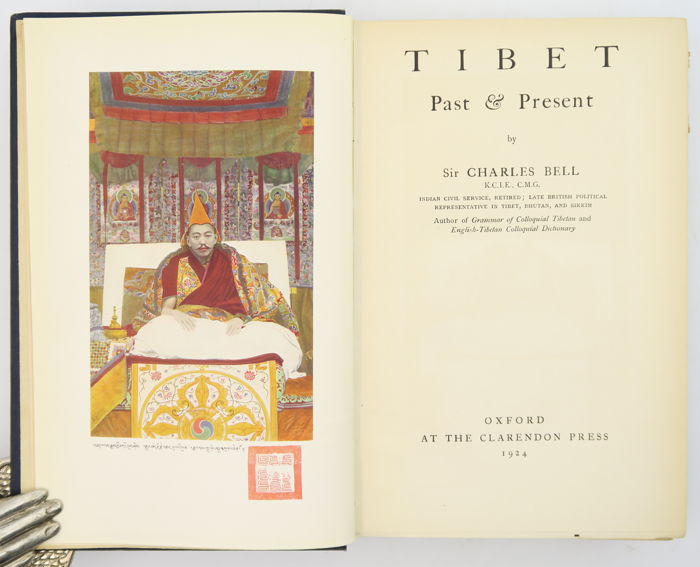 Charles Bell - Tibet Past & Present - 1924