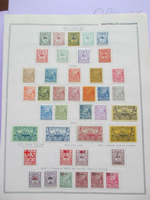 Colonies Françaises Mayotte, Guinée, Togo et autre 1882/1954 - Very advanced stamps including tax and air collection