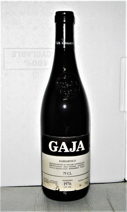 1976 Barbaresco - Domaine Angelo Gaja - 1 bottles (75cl)