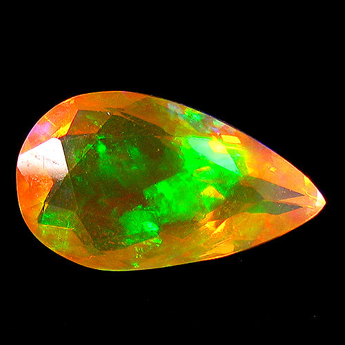 Crystal Opal - Yellow,  Play of colours - 3.22 ct