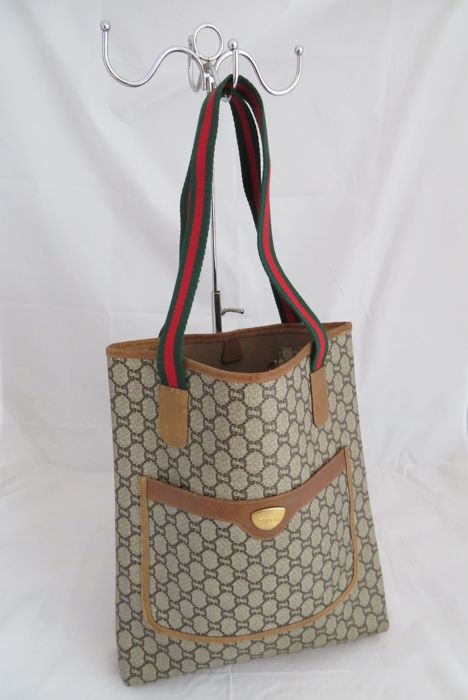 86861a0cadcc8 Gucci Plus Tote bag - Vintage - Catawiki
