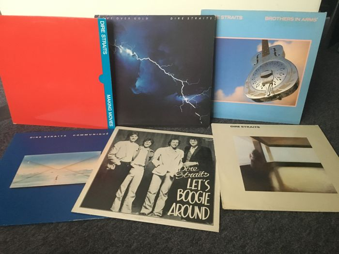 Dire Straits, Six early albums  from 1978 till 1985
