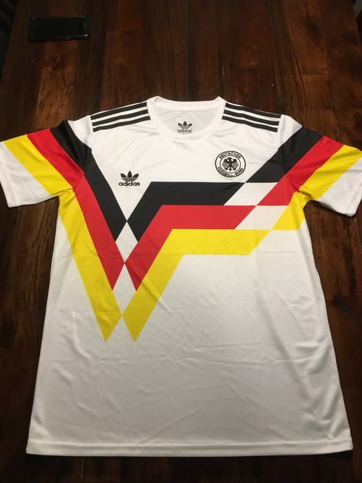 Authentic Germany Adidas Originals 1990 WC Jersey