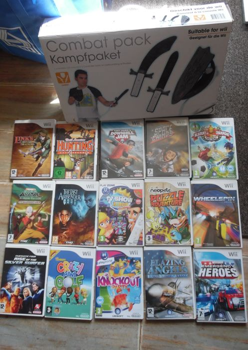 Lot of 15 Wii games in boxed with manual and more
