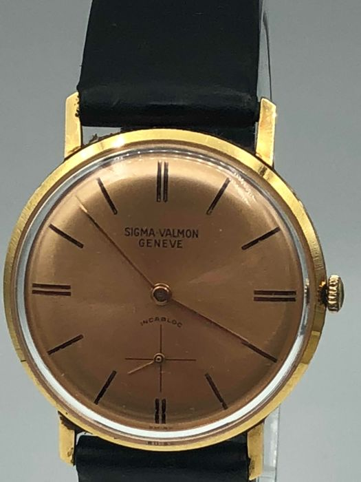Sigma-Valmont - Classic/Vintage 18K (0.750)Yellow Gold - Paseux320 - Homme - 1960-1969
