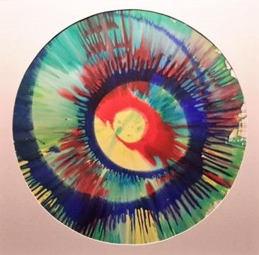 Damien Hirst - Spinpainting