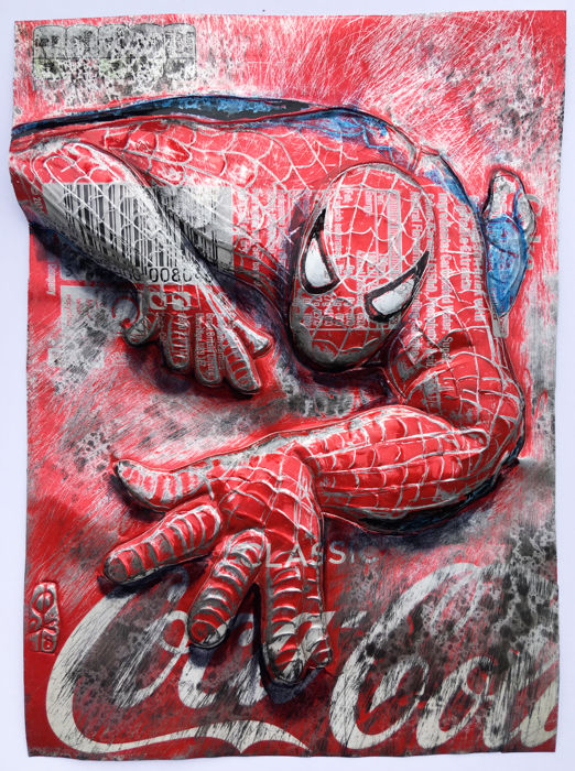 ComicCAN - SPIDERMAN on COKE CAN - (2018/2018)