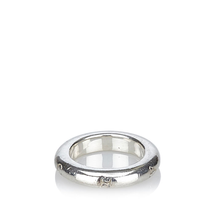 Chanel - Signature Silver Ring