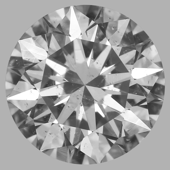Round Brilliant   0.52ct DSI2 GIA- original image -10x