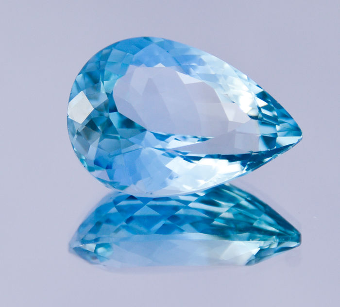 Swiss Blue Topaz - 29.20 ct