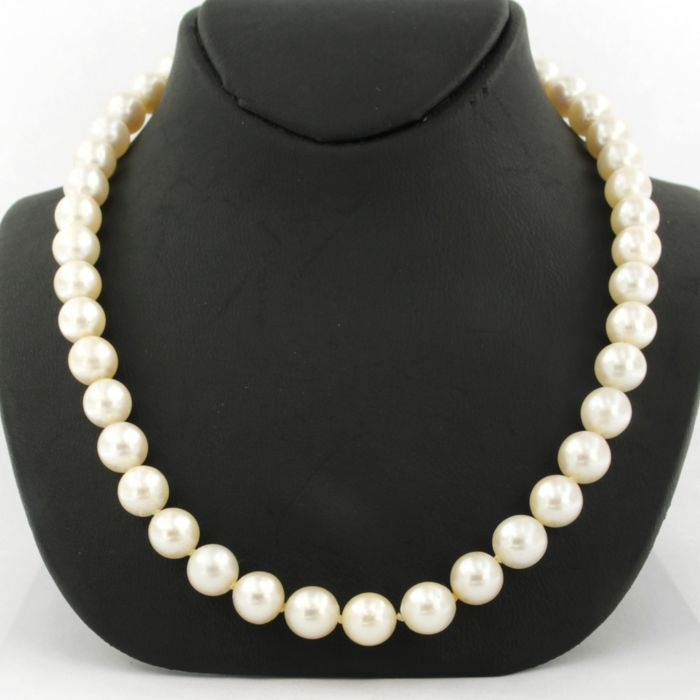 14 carats Or blanc, Or jaune - Collier