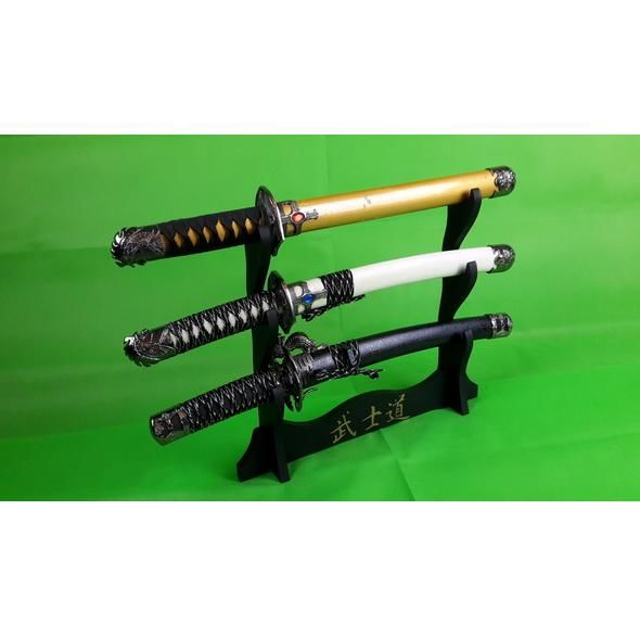 3 x samurai tanto knives china with standard