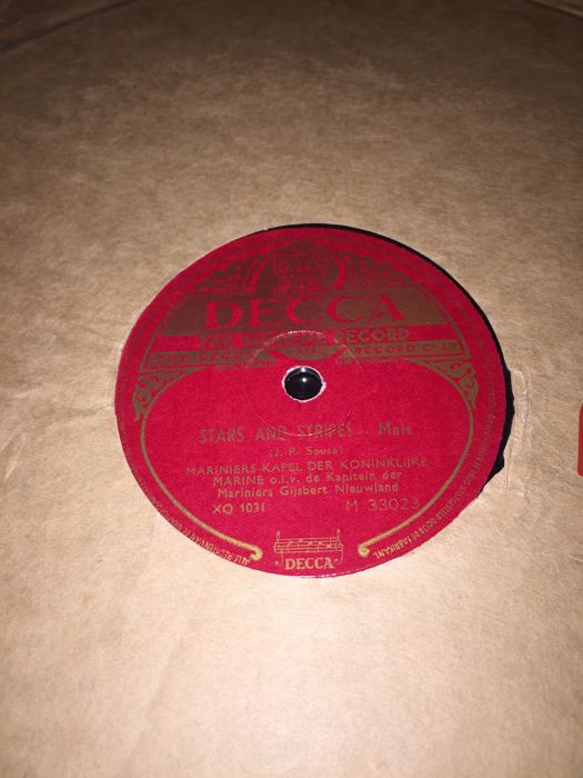 NICE COLLECTION 78 rpm gramophone records - Catawiki