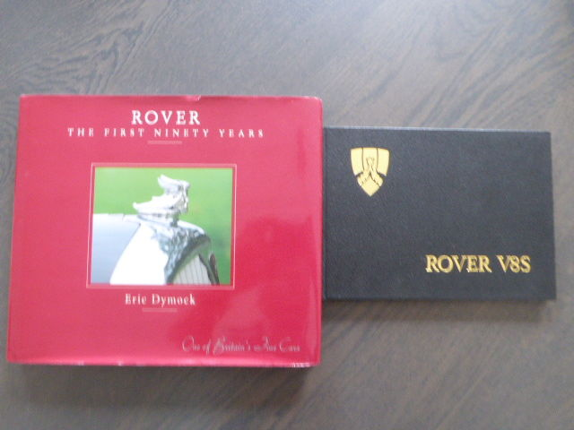 Boeken - Rover The first ninety years & Rover handbook      - 1979-1993