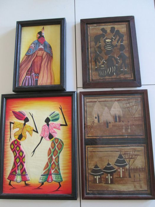 Ethnic paintings