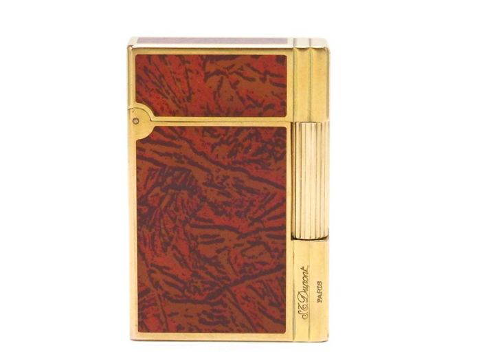 S.T Dupont lighter Gatsby, rare motif, Chinese lacquer, MINT