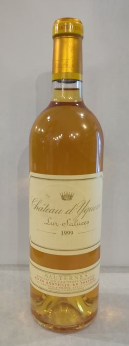 1999 Château d'Yquem, Sauternes - 1 bottle in excellent condition
