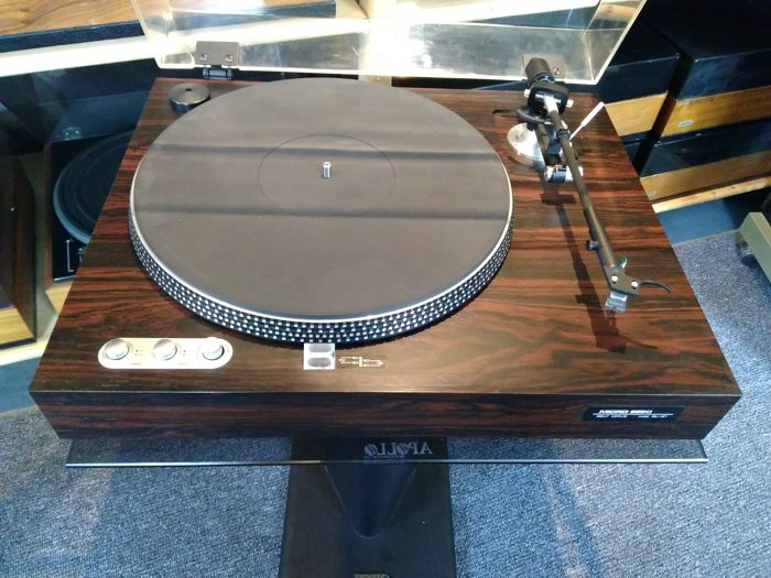 Micro Seiki BL 21 string powered top class turntable in rosewood - Catawiki