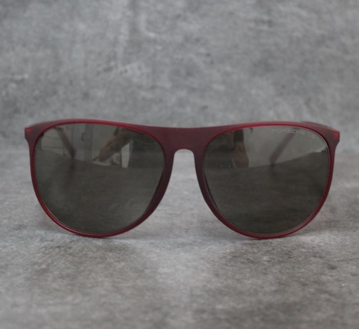 Porsche Design Eyewear - grau bordeaux  - P8596 Sunglasses