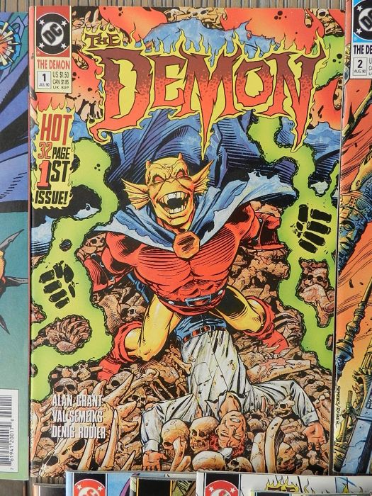 The Demon - Vol. # 0 - 58 plus 2 annuals. Complete! - Brossura - Prima Edizione - (1990/1995)