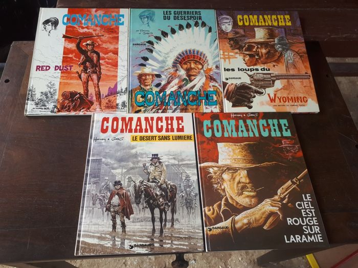 Comanche T1 à T5 - 5x C - EO (1972/1975) - First Edition