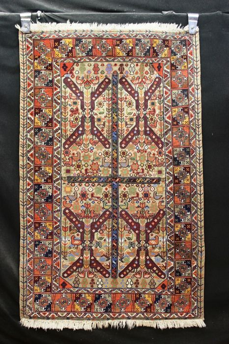 Antique Sumakh carpet / kilim, Iran - 185 x 116 cm