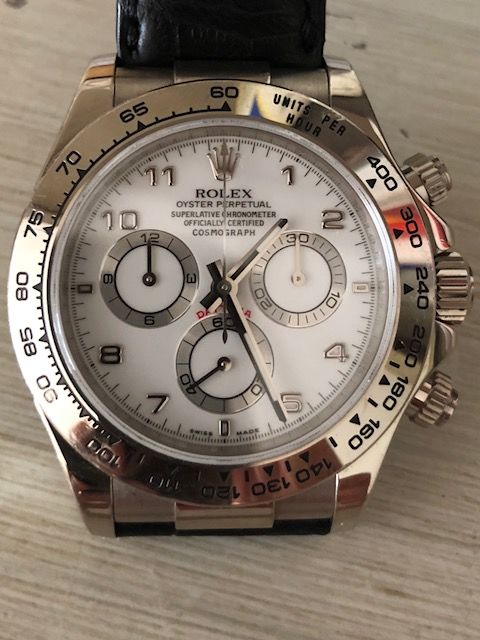 Rolex , Oyster Perpetual Cosmograph Daytona , Ref. 116519 , Men , 2015 ,  Catawiki