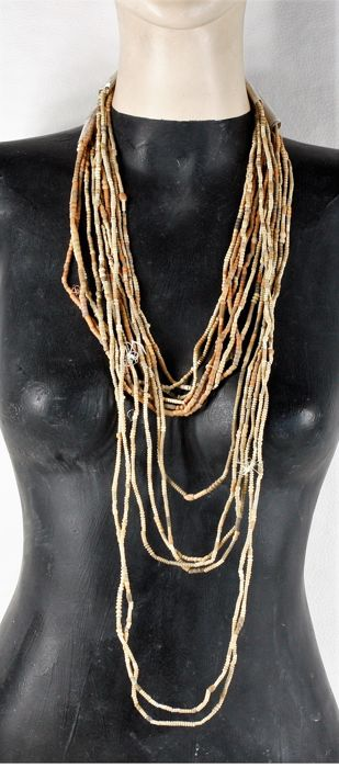 Old Terracotta beads, sourced in Mali - West Africa