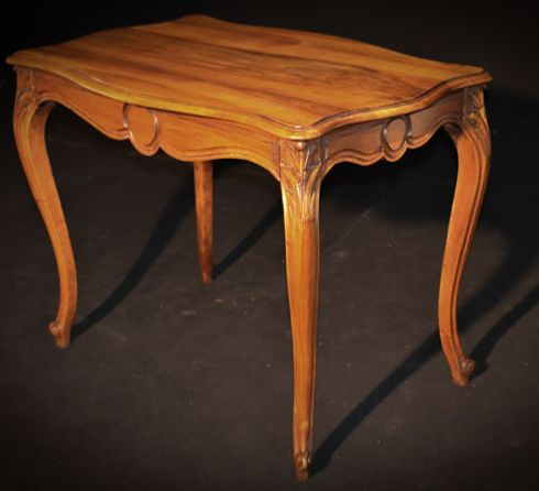Provencal Writing Desk - Walnut - France - circa 1890