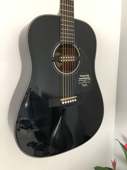 Fender Acoustics CD-60 BK-DS-V2 (With pickup)
