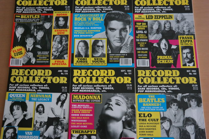 Lot of Music Magazines - 31 issues of Record Collector