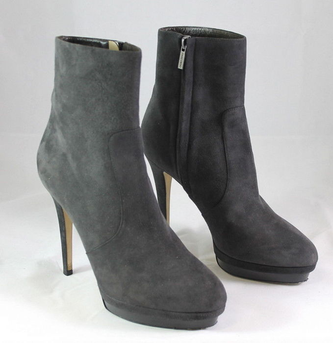 Jimmy Choo - Gray ankle boot mod. out of catalog